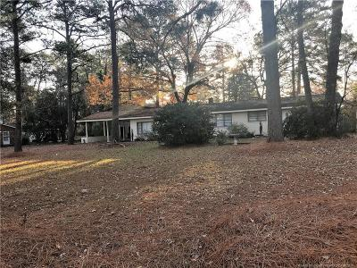 Fayetteville Single Family Home For Sale: 402 Law Rd