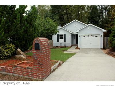 Fayetteville NC Single Family Home For Sale: $116,500