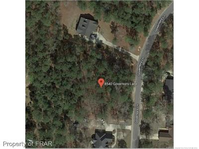 Hope Mills Residential Lots & Land For Sale: 8540 Governors Lane