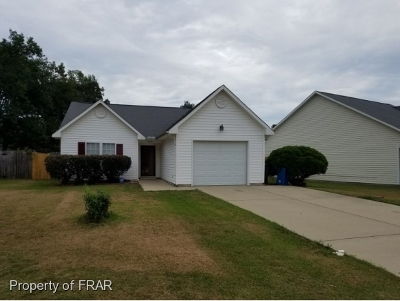 Fayetteville NC Single Family Home For Sale: $139,000