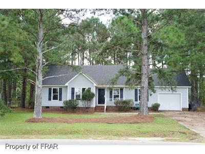 Raeford Single Family Home For Sale: 7106 Rockfish Road
