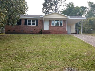 Fayetteville NC Single Family Home For Sale: $70,000