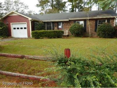Fayetteville NC Single Family Home For Sale: $38,500