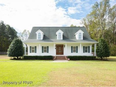 Fayetteville Single Family Home For Sale: 2500 Sunnyside School Road