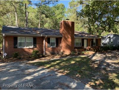 Raeford Single Family Home For Sale: 1005 N Fulton Street