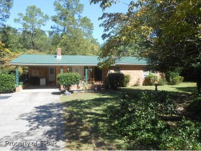 Fayetteville Single Family Home For Sale: 7974 King Rd
