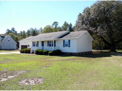 Robeson County Single Family Home For Sale: 1780 Beulah Church Rd