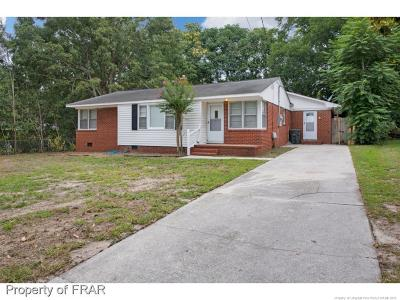 Fayetteville NC Single Family Home For Sale: $82,500