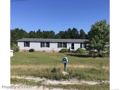 Hope Mills NC Single Family Home For Sale: $58,500
