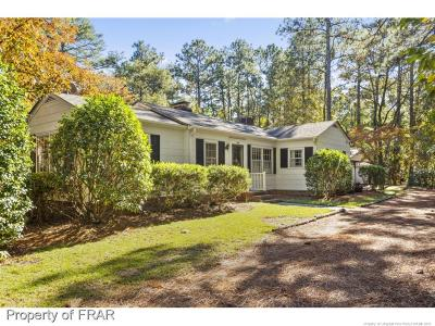 Fayetteville NC Single Family Home For Sale: $167,500