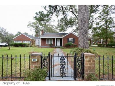 Robeson County Single Family Home For Sale: 409 21st St