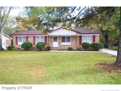 Fayetteville NC Single Family Home For Sale: $85,500
