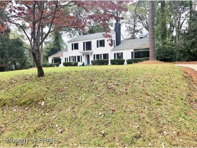 Fayetteville NC Single Family Home For Sale: $319,000