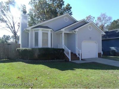 Fayetteville NC Single Family Home For Sale: $88,500