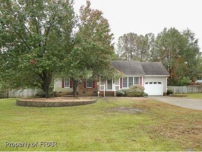 Hope Mills NC Single Family Home For Sale: $124,990