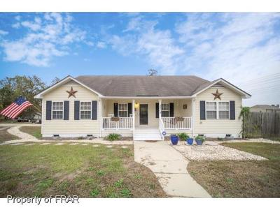 Fayetteville NC Single Family Home For Sale: $160,000