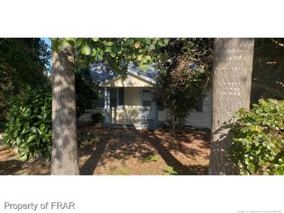 Hope Mills NC Single Family Home For Sale: $55,000