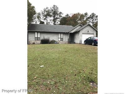 Fayetteville NC Single Family Home For Sale: $99,900