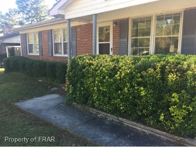Fayetteville NC Single Family Home For Sale: $65,000