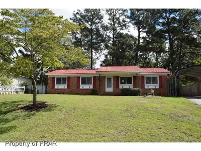 Fayetteville NC Single Family Home For Sale: $53,900
