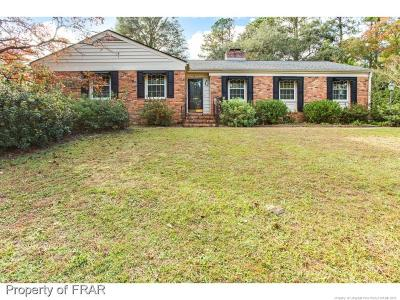Fayetteville NC Single Family Home For Sale: $239,900
