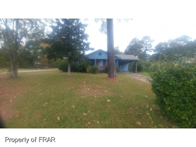 Fayetteville NC Single Family Home For Sale: $41,800