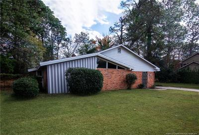 Fayetteville NC Single Family Home For Sale: $220,000