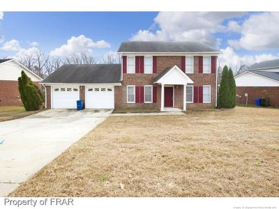 Fayetteville NC Single Family Home For Sale: $138,000
