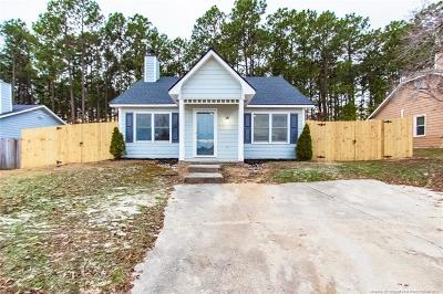 Fayetteville NC Single Family Home For Sale: $113,000