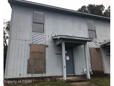Fayetteville NC Single Family Home For Sale: $26,500