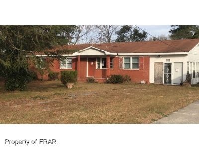 Fayetteville NC Single Family Home For Sale: $42,000