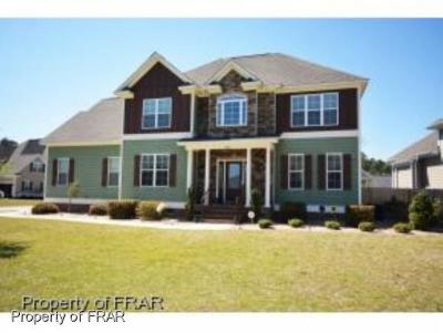 Fayetteville NC Single Family Home For Sale: $259,900