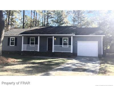 Fayetteville NC Single Family Home For Sale: $112,000