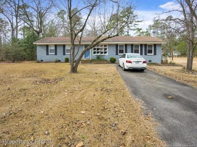 Raeford Single Family Home For Sale: 1105 N. Magnolia