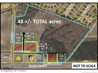 Hoke County Residential Lots & Land For Sale: Brock Road