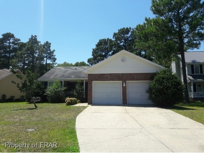 Fayetteville Single Family Home For Sale: 3108 Jimmy Ct