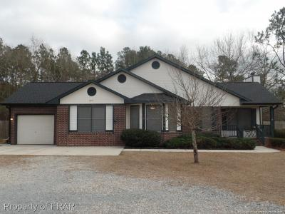 Fayetteville Single Family Home For Sale: 3341 Braddy Rd