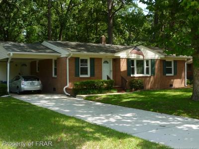 Fayetteville Single Family Home For Sale: 4914 Redwood Dr