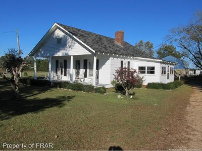 Lillington Single Family Home For Sale: 1016 Raven Rock Road