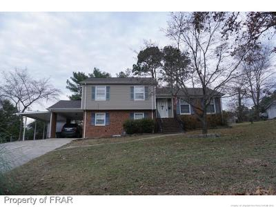 Fayetteville NC Single Family Home For Sale: $145,000