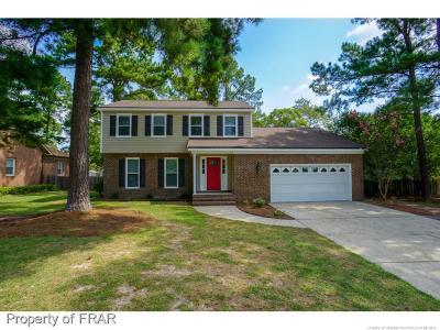 Fayetteville Single Family Home For Sale: 3600 Thorndike Dr