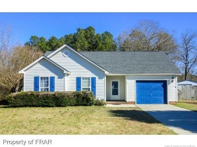 Fayetteville NC Single Family Home For Sale: $106,000