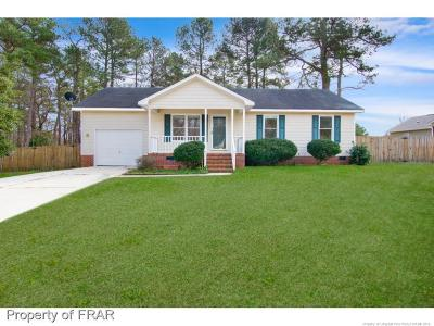 Raeford Single Family Home For Sale: 122 Dragoon Court