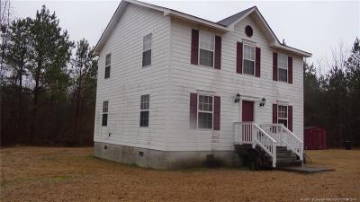 Raeford  Single Family Home For Sale: 139 Badu Lane