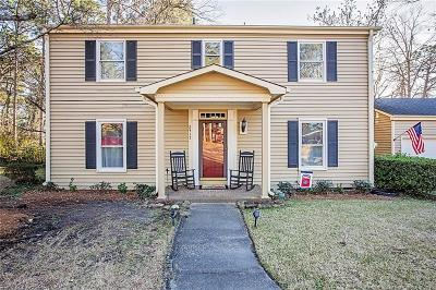 Fayetteville Single Family Home For Sale: 2417 Elmhurst Drive