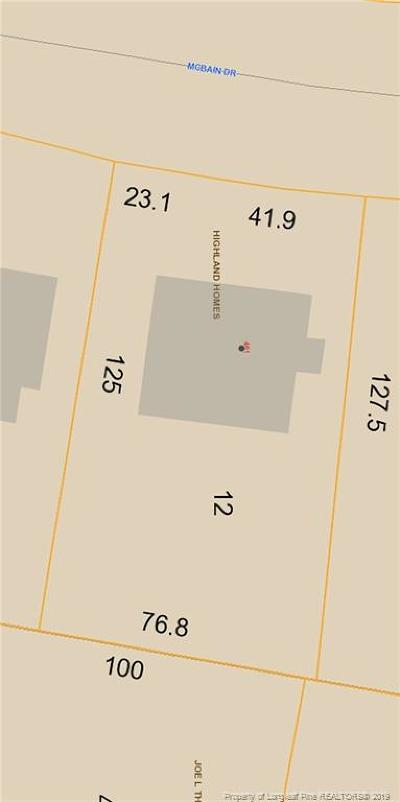 Fayetteville Residential Lots & Land For Sale: 461 McBain Drive