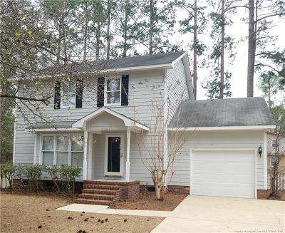 Fayetteville Single Family Home For Sale: 3301 Krista Drive