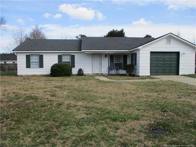 Fayetteville Single Family Home For Sale: 603 Rockspring Road