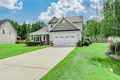 Hope Mills Single Family Home For Sale: 6641 Carriage Crossing Road
