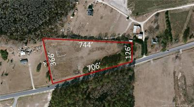 Hoke County Residential Lots & Land For Sale: 3289 Fayetteville Road